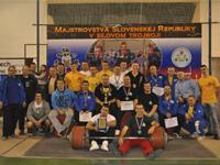 Majstrovstvá SR v silovom trojboji 2014, Častá